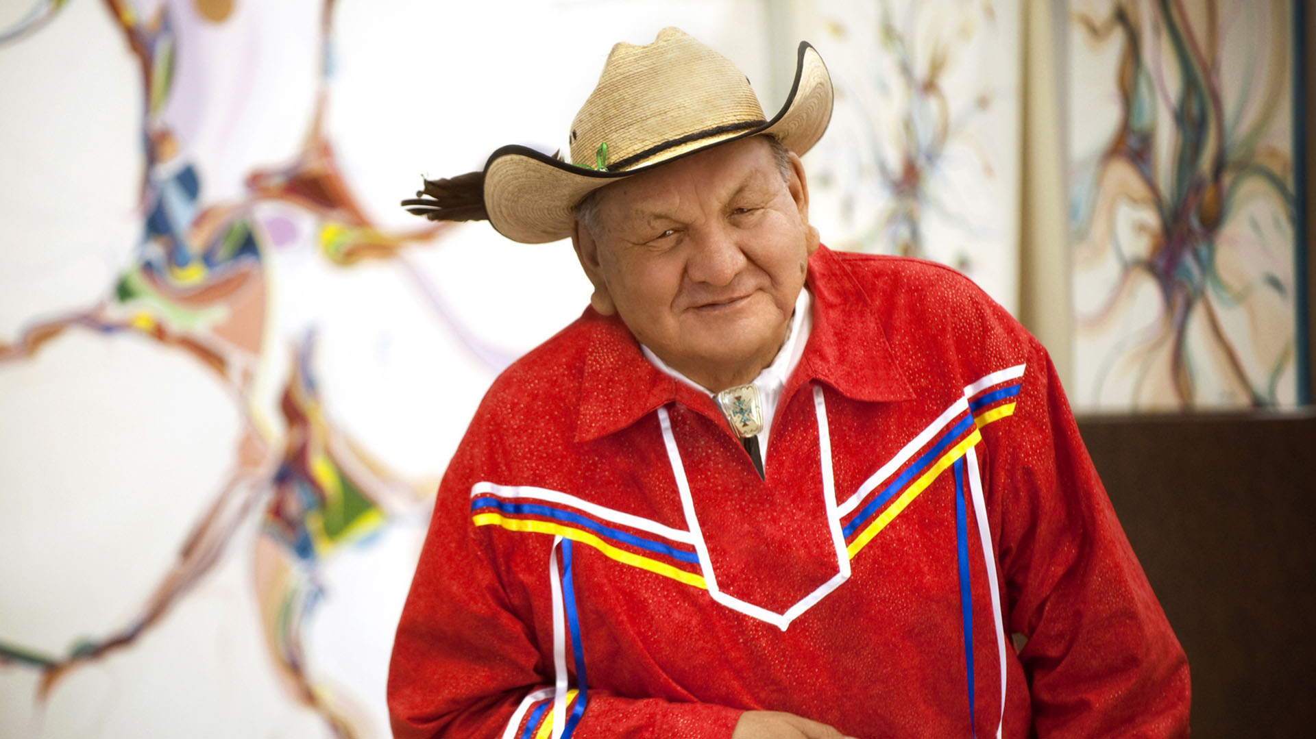 Alberta Order of Excellence member Alex Janvier