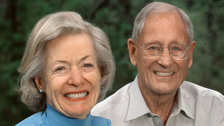 Alberta Order of Excellence member Barbara and John Poole