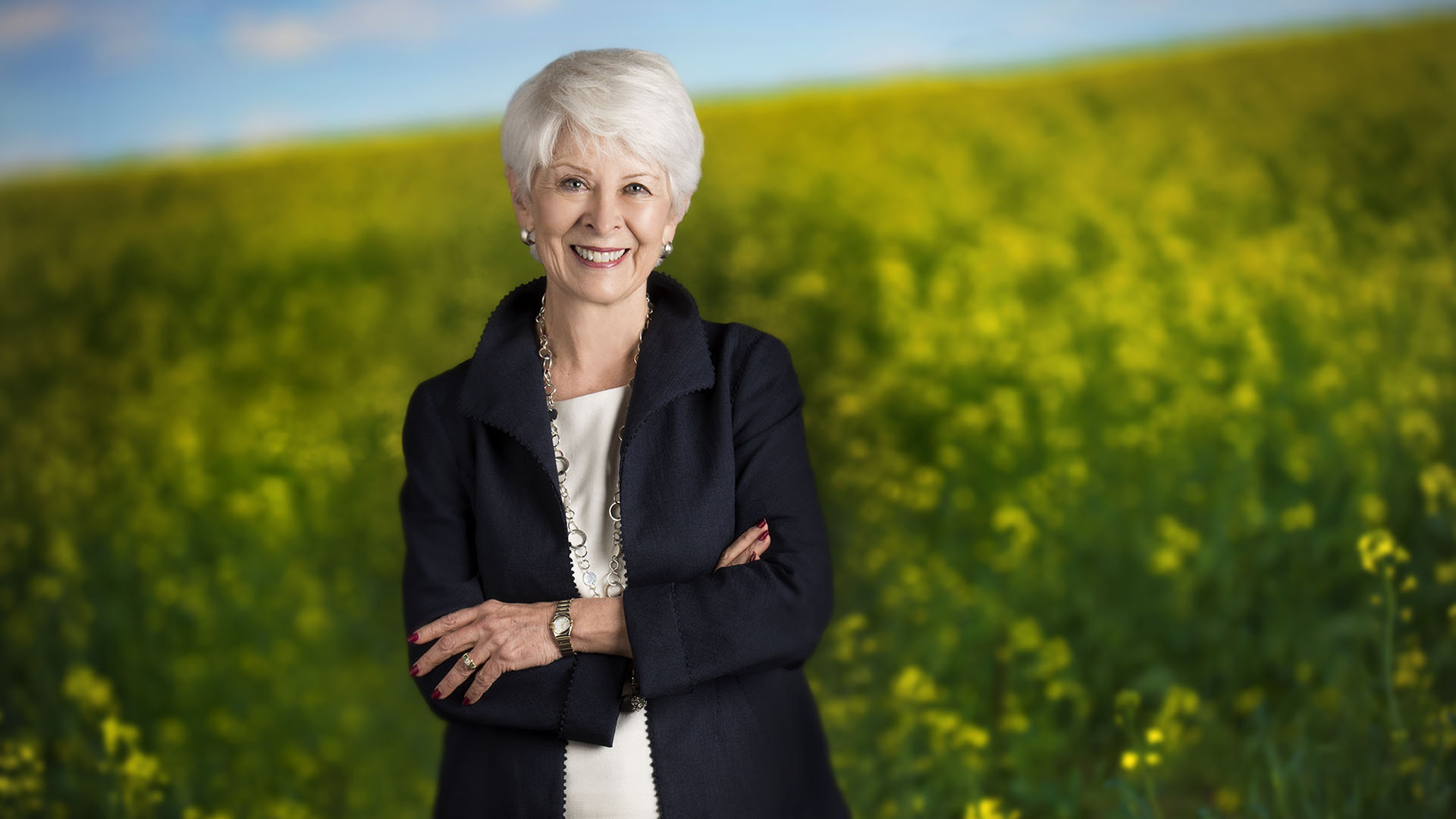 Alberta Order of Excellence member Bonnie DuPont
