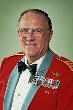 Alberta Order of Excellence member Donald Ethell