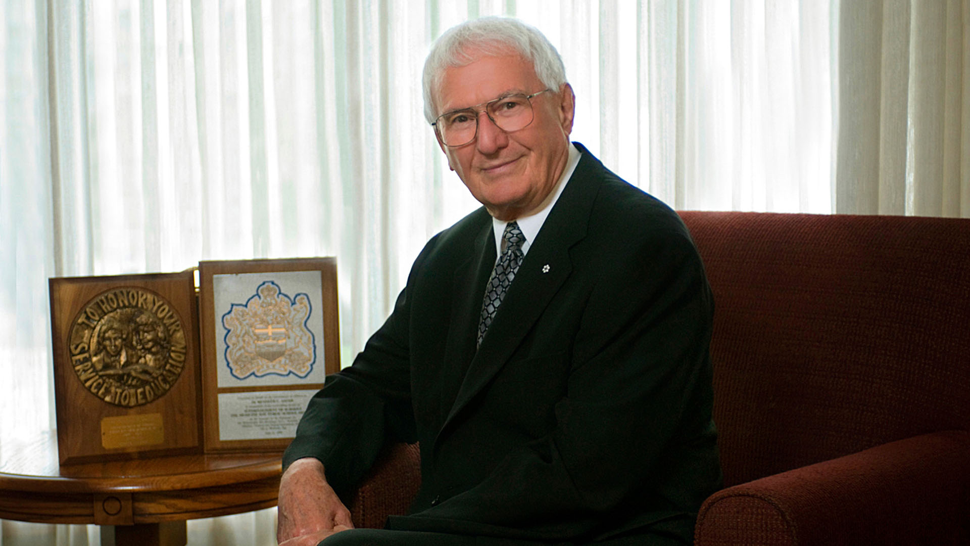 Alberta Order of Excellence member Kenneth Sauer