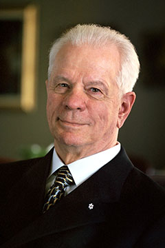 Alberta Order of Excellence member Louis  Desrochers