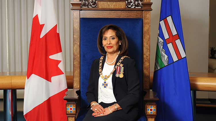 Alberta Order of Excellence current Chancellor the Honourable Salma Lakhani