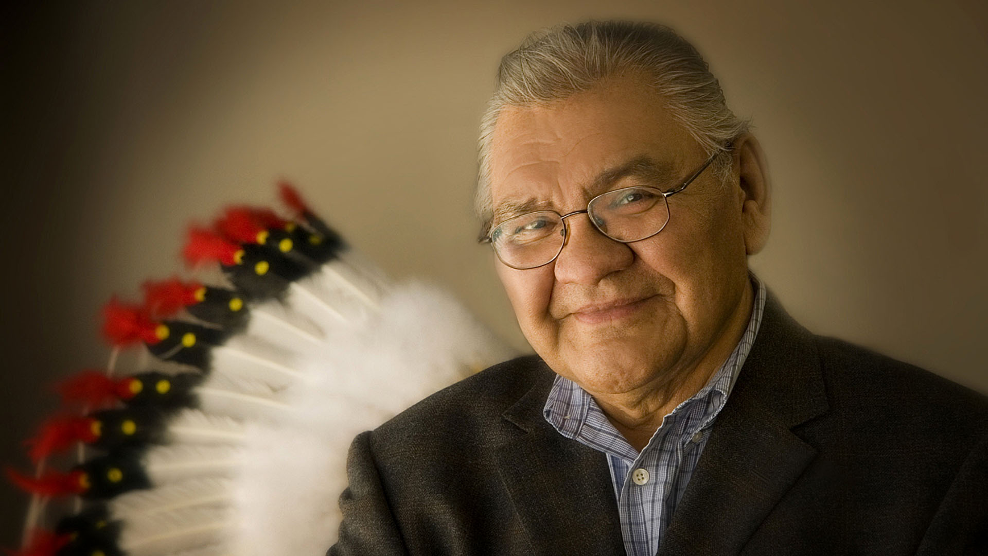 Alberta Order of Excellence member Victor Buffalo