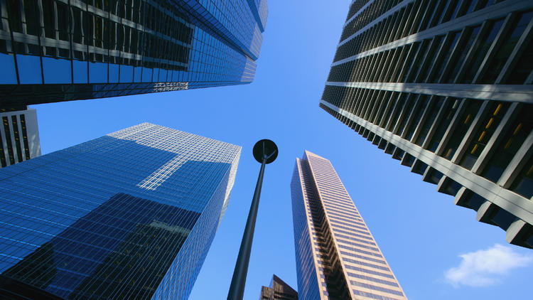 Image of skyscrapers