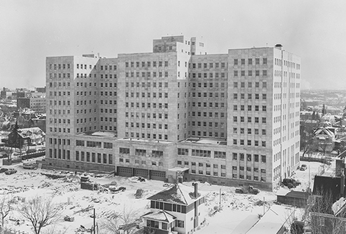 Historic photo of the Federal Public Building.
