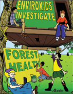 Cover of Forest Health Activity Book