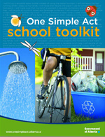 Cover of One Simple Act school toolkit