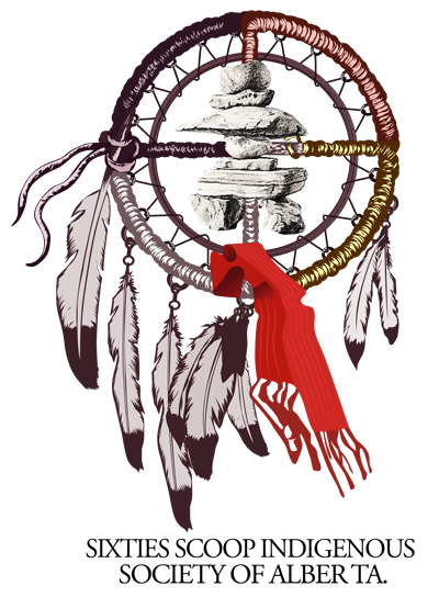 Logo for the Sixties Scoop Indigenous Society of Alberta