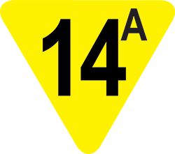 14A film rating icon