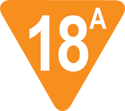 18A film rating icon
