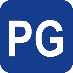 Parental Guidance (PG) film rating icon