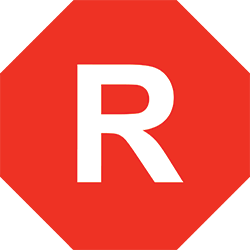 Restricted (R) film rating icon