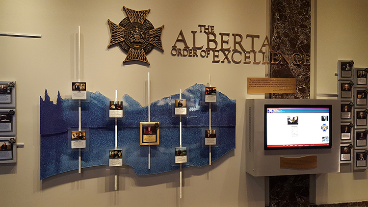 Alberta Order of Excellence portrait galleries