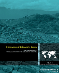 Image of Republic of Colombia International Education Guide cover page.