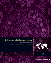 Image of Republic of India International Education Guide cover page.