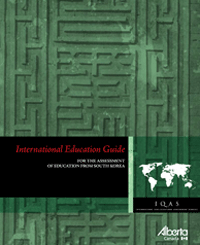 Image of South Korea International Education Guide cover page.