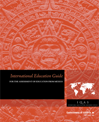 Image of Mexico International Education Guide cover page.