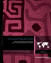 Image of Federal Republic of Nigeria Education Guide cover page.