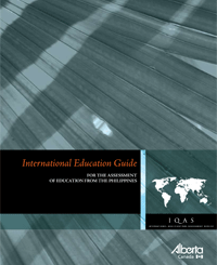 Image of Republic of Philippines International Education Guide cover page.