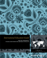Image of Republic of Poland International Education Guide cover page.