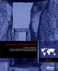Image of United Kingdom International Education Guide cover page.