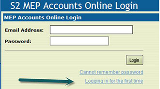 MEP – First-time account access | Alberta ca
