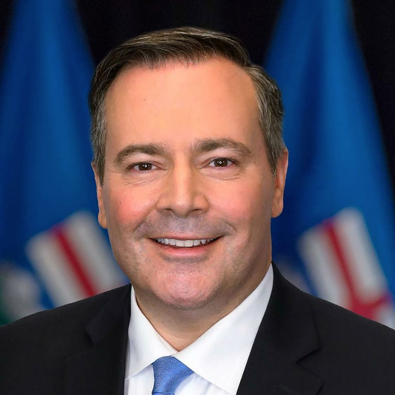 Photo of the Premier of Alberta