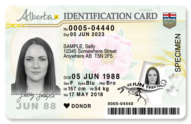 Driver's licence security features | Alberta ca