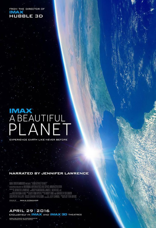 A Beautiful Planet film poster.