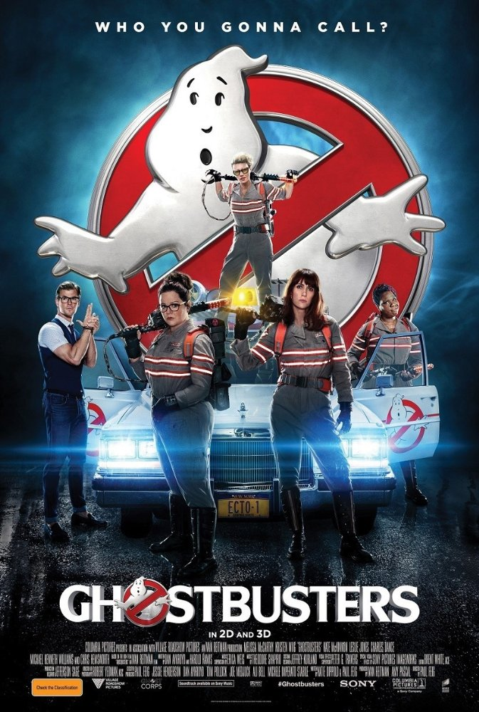 Ghostbusters film poster