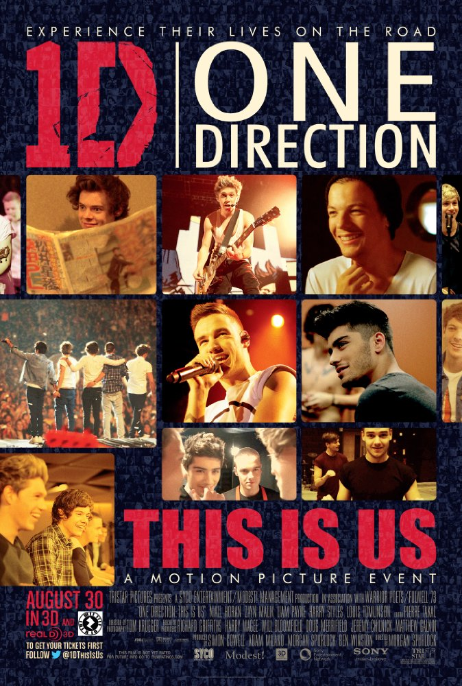 One Direction film poster