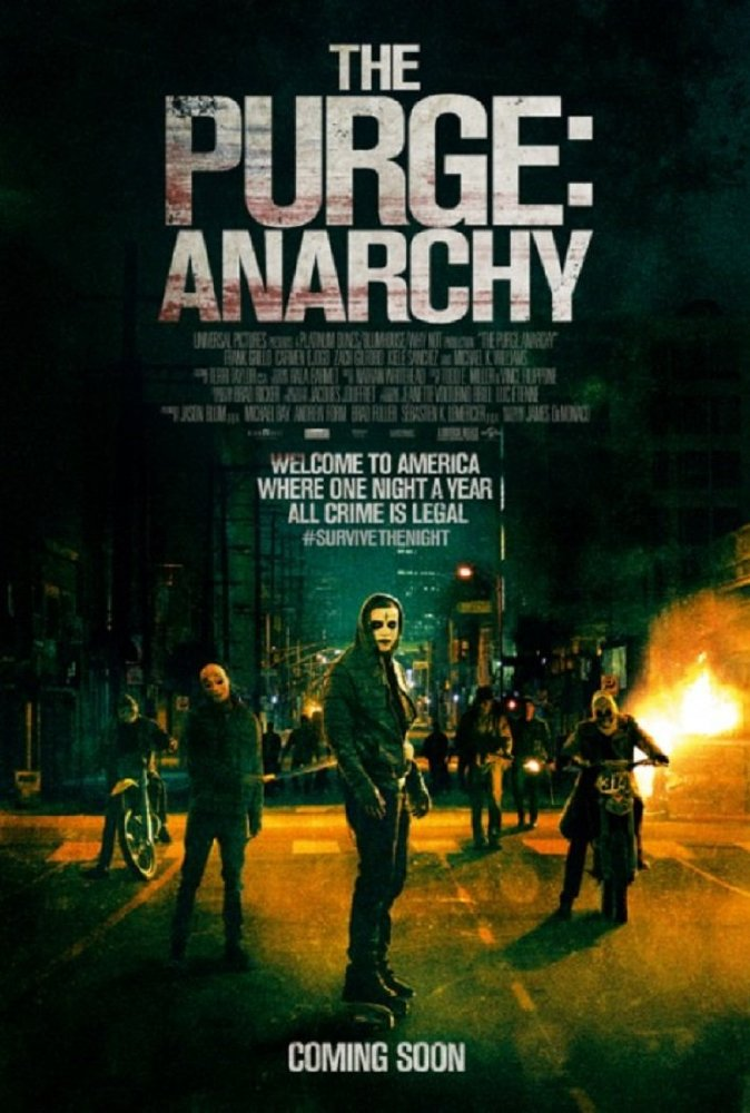 The Purge: Anarchy film poster
