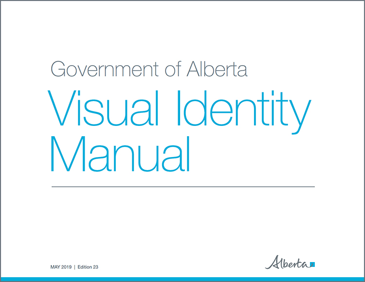 Cover page of the Visual Identity Manual