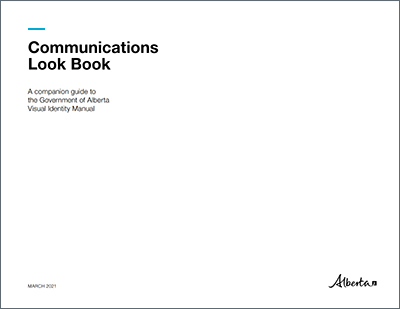 Cover image of the Communications Look Book